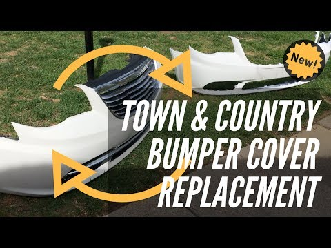 How-to: Replace the Bumper Cover on 2011-2015 Chrysler Town and Country (also for 2012, 2013 & 2014)