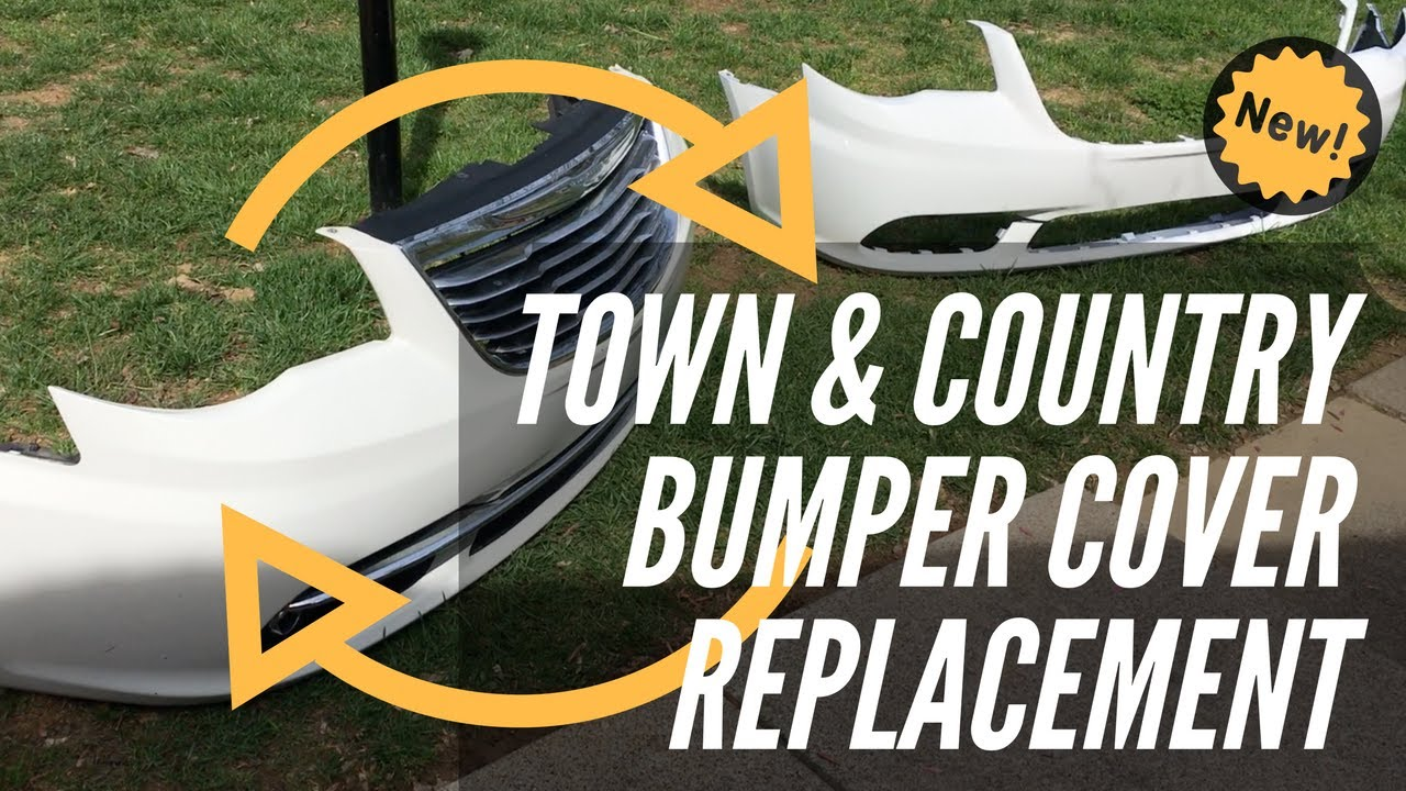 How To Replace The Bumper Cover On 2011 2015 Chrysler Town And