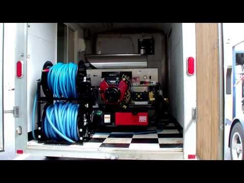 Pressure Pro pressure washer. Pressure Pro hot water pressure washers. Enclosed trailers.