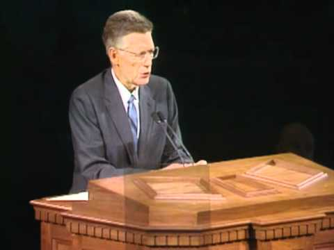 Bruce R. McConkie's final testimony - April, 1985