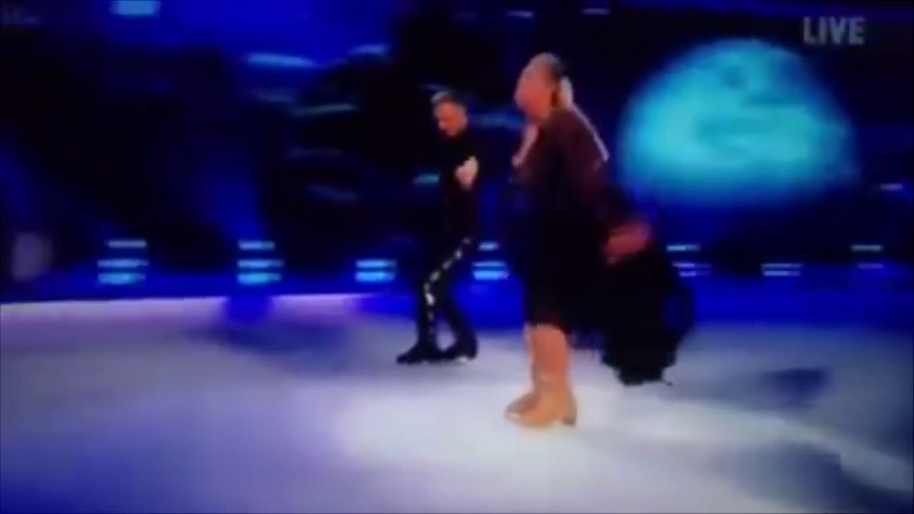 Download Gemma collins falls. Dancing on ice