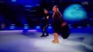 Gemma collins falls. Dancing on ice