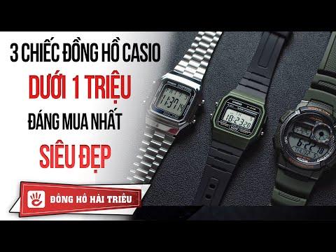 Hải Triều Top Watch #9 | 3 Chiếc đồng Hồ Casio Dưới 1 Triệu đáng Mua Nhất