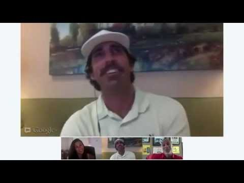 Google+ Hangout with Michael Sims - 59 on the eGolf Tour