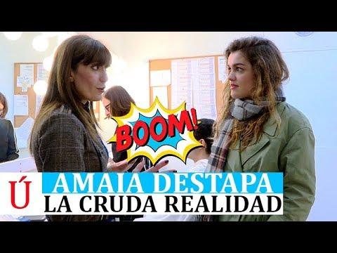 Amaia destapa la cruda realidad de Operación Triunfo y Eurovision en Comando Actualidad