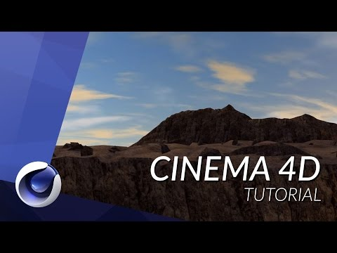 HOW TO CREATE A MOUNTAIN CLIFF IN CINEMA 4D