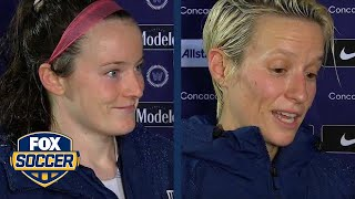 Lavelle and Rapinoe discuss USWNT's championship win vs. Canada | 2018 CONCACAF Women's Championship