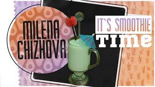 It`s smoothie time! Супер питательный смузи ^_^  Густой утренний смузи с авокадо и кокосовым молоком