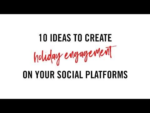 Social Media Marketing Tips for Holiday Engagement