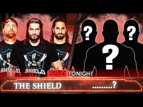 The Shield Match On Next Raw 13 November 2017 Roman Reigns Opponent Raw | Seth Rollins Dean Ambrose
