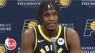 Myles Turner full press conference | Indiana Pacers | 2019 NBA Media Day