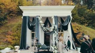 Роскошное оформление свадебного зала от Марии Каменской