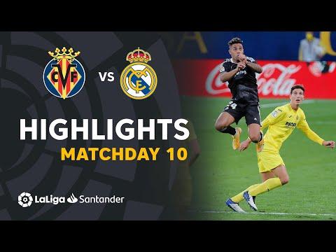 Villarreal Real Madrid Goals And Highlights