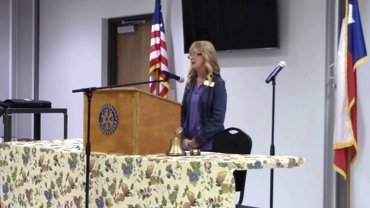 Denise Hart @ Gilmer Rotary Club - April 3, 2018