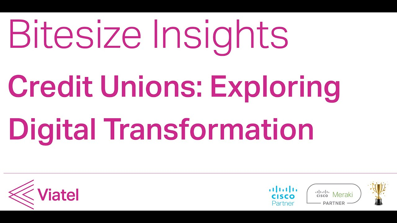 Trust, Service and Partnership: what we learned from our Credit Union Digital Transformation Session