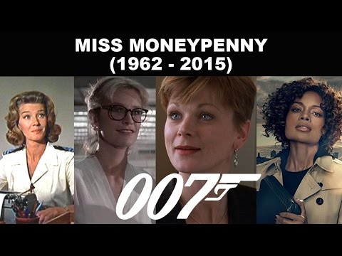 Miss Moneypenny 1962  2015  James Bond 007