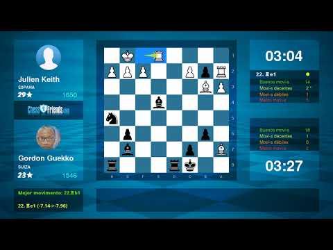 Chess Game Analysis: Julien Keith - Gordon Guekko : 0-1 (By ChessFriends.com)
