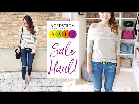 EPIC NORDSTROM ANNIVERSARY SALE HAUL & TRY ON!