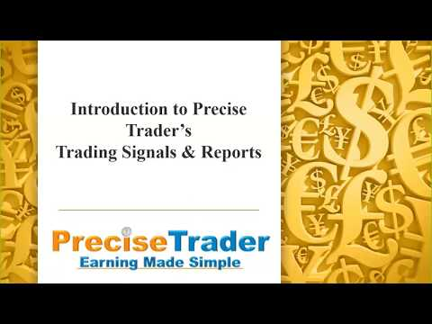 Introduction to Precise Trader's Trading Signals & Reports (15/05/2019)