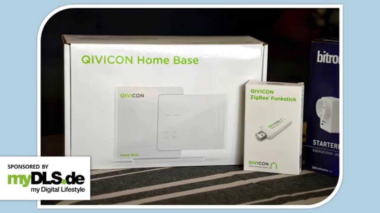 Qivicon Home Base Eingerichtet Und Getestet Youtube