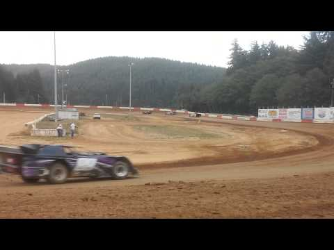 8-2-14 heat late model heat coos bay speedway