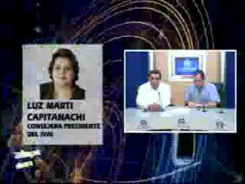 Luz Marti Capitanachi Presidenta Consejera Parte 1