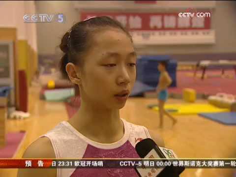 He Kexin, Yang Yilin, Deng Linlin, Sui Lu Training
