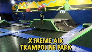 XTREME AIR TRAMPOLINE PARK - Ninja Adventure Course