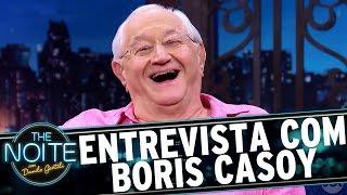 Entrevista com Boris Casoy   The Noite (28/03/17)