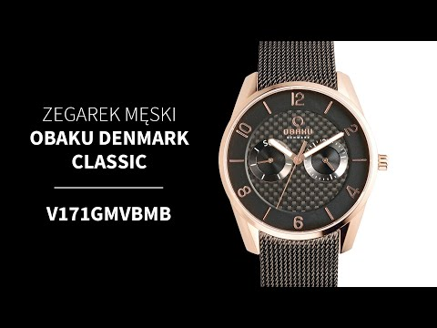 Zegarek Obaku Denmark Classic V171GMVBMB | Zegarownia.pl