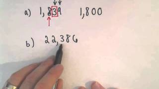 Rounding Whole Numbers: Round to the Nearest Hundred