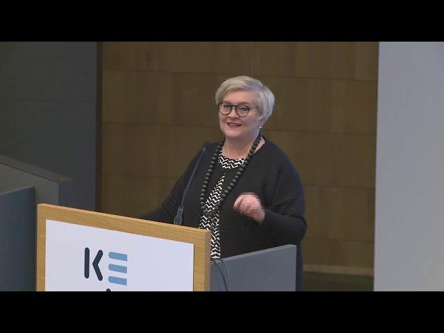 1. Päivän avaus,  Anu Vehvilainen, kunta- ja uudistusministeri Valtiovarainministeriö