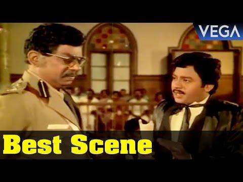 Ramarajan Question S.P Of Police || Paarthal Pasu Tamil Movie || Best Scene