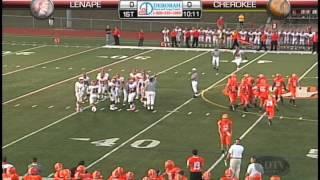 Cherokee High School vs Lenape High School Football