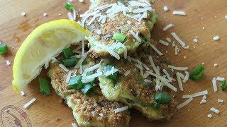placki z cukinii | Courgette Fritters
