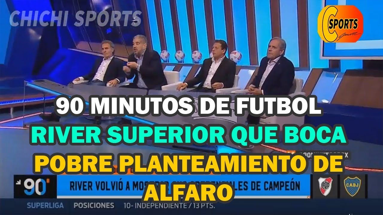 90 Minutos De Futbol En Vivo Por Internet 90 minutos de futbol  2 de octubre 2019 editorial de pollo vignolo, river  2 vs boca 0libertadores
