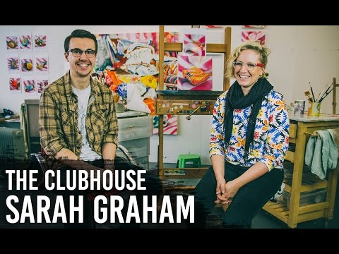 Sarah Graham - Photorealism Artist - The Clubhouse Interview