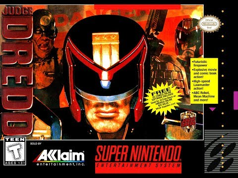 Is Judge Dredd [SNES] Worth Playing Today? - SNESdrunk