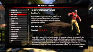 Dead Island Riptide - All Zombies In The Game - Dr. Kessler