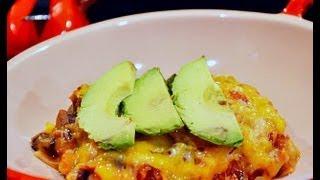 Reel Flavor - Mexican Veggie & Tortilla Casserole