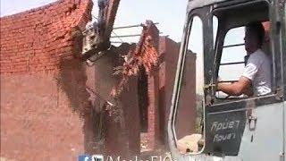 إزالة تعديات علي أراضي زراعية بكفر سليم - قطاع شلقان 3-6-2014