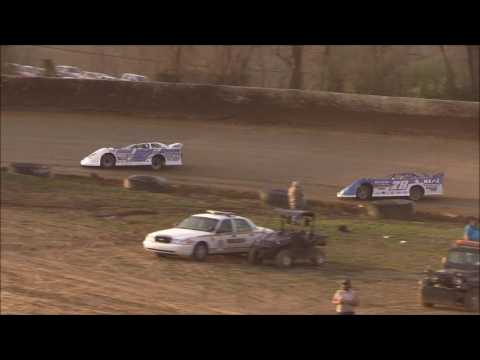 Crate Late Model Heat #2 from Florence Speedway, March 25th, 2017.