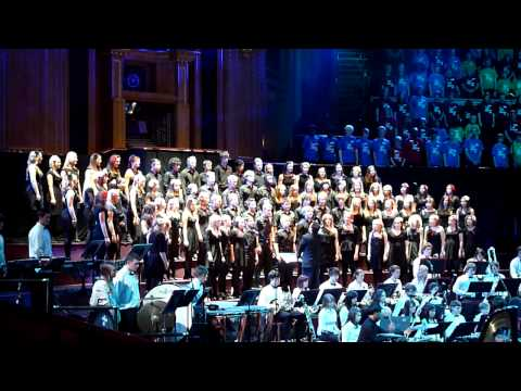 Thomas Telford School- Bohemian Rhapsody (Royal Albert Hall 2010) HD