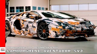 Lamborghini Aventador SVJ Nurburgring Lap Record Attempt thumbnail