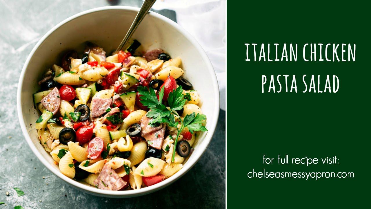 Italian chicken pasta salad recipes