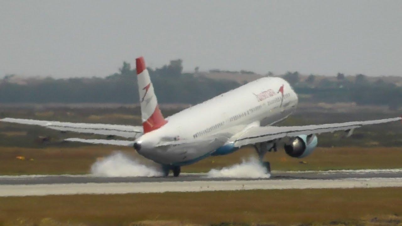 Emergency Landing! A321 Flap Problem-High Speed Landing ...
