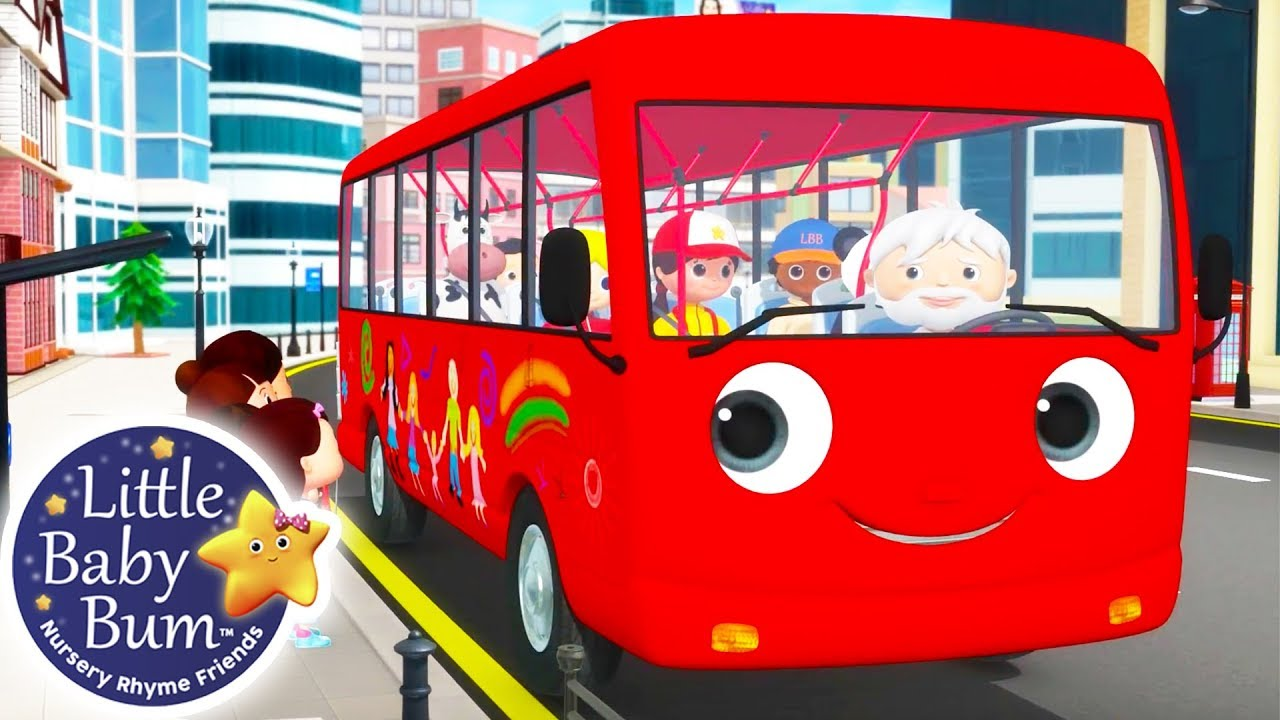 Wheels on The Bus   Little Baby Bum   Nursery Rhymes for Babies   Videos for Kids   Cartoons #1