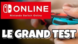 NINTENDO SWITCH ONLINE - Le grand test