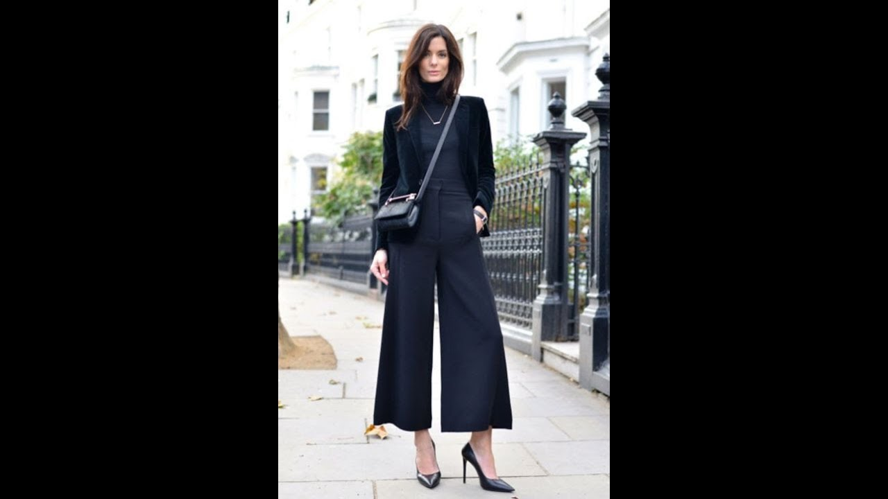 How to Style Culottes This Fall Winter