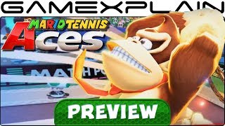 Mario Tennis Aces - In-Depth Impressions w/ the Full Game PREVIEW (Story Mode, Swing Mode, & More!)